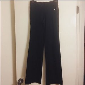 Nike Black Bootcut Yoga Pants Size XS long
